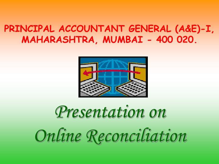 principal accountant general a e i maharashtra mumbai 400 020 n.