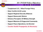 io psyop policy objectives