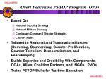 overt peacetime psyop program op3