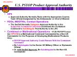 u s psyop product approval authority