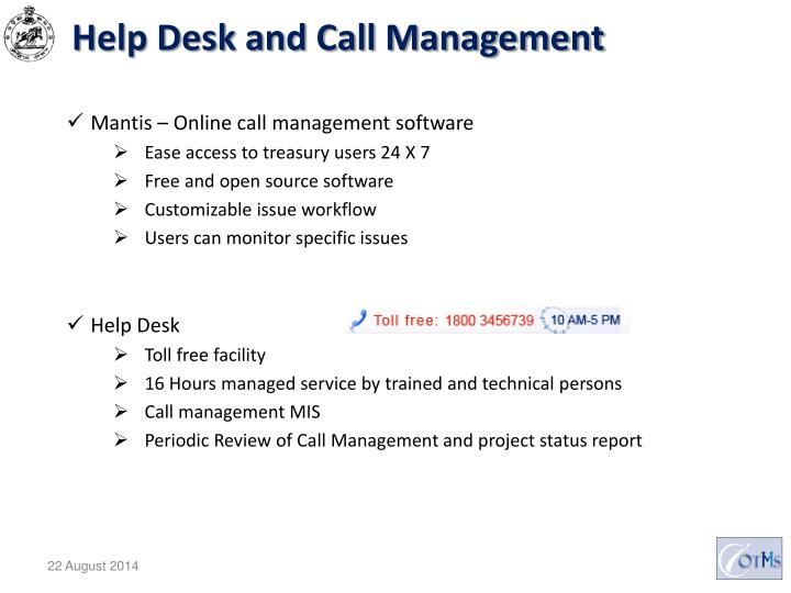 Help Desk and Call Management