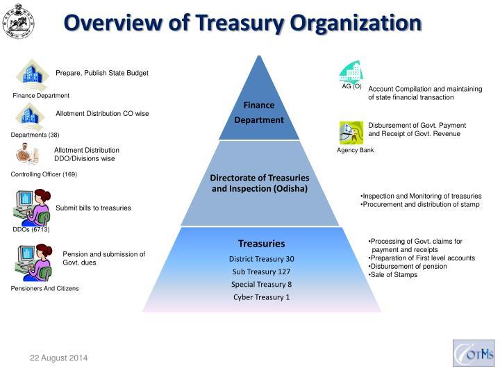 Overview of treasury organization