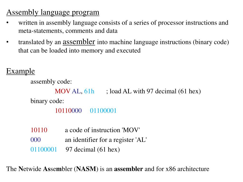 PPT - Computer Architecture and Assembly Language PowerPoint