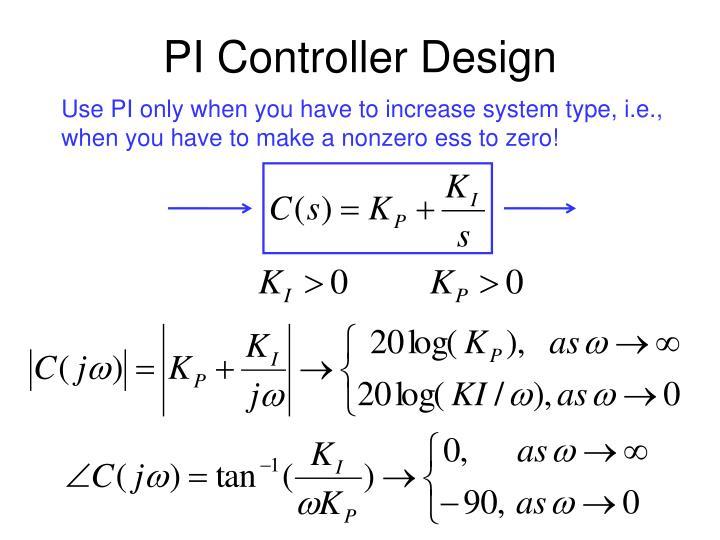 PPT - PI Controller Design PowerPoint Presentation - ID:3412586