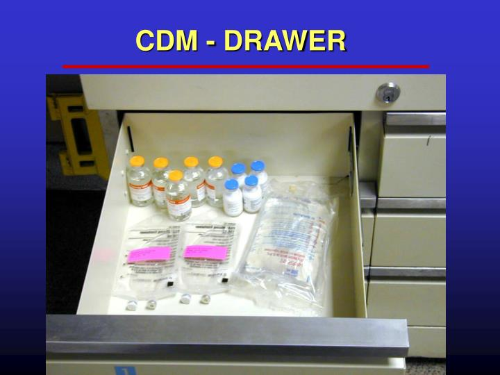 CDM - DRAWER