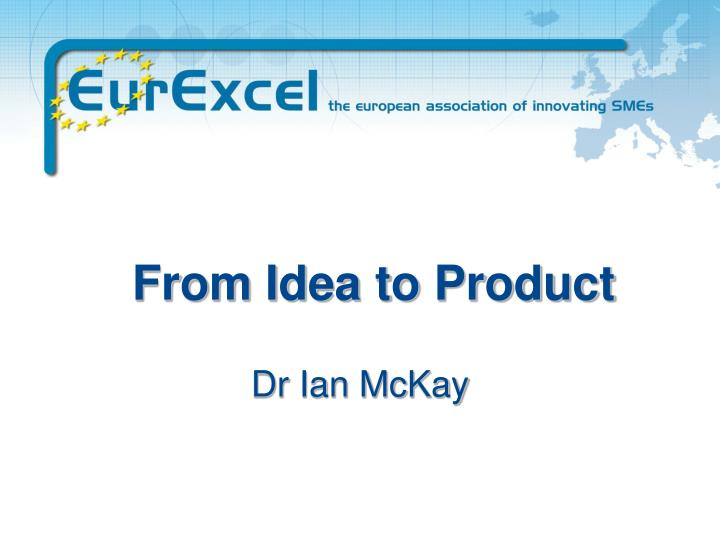 from idea to product n.