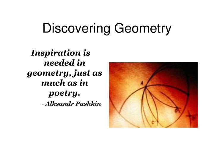 discovering geometry n.
