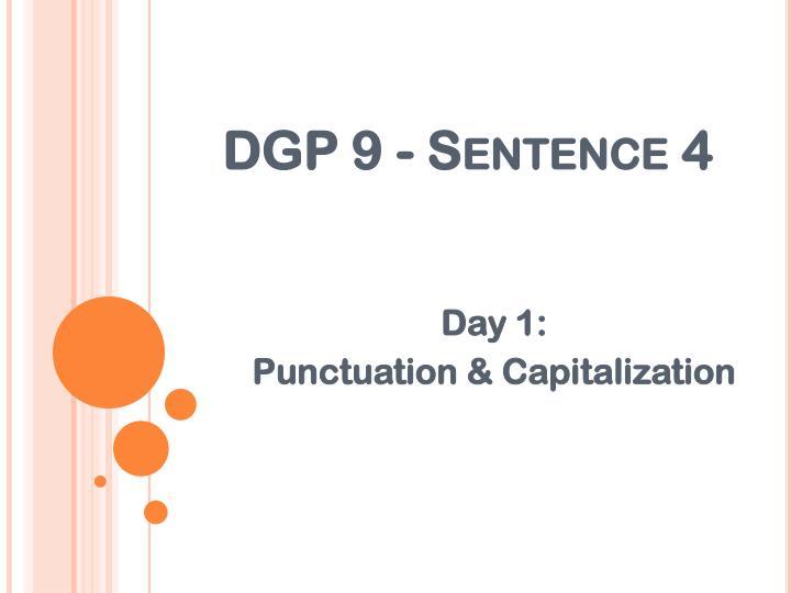 Ppt dgp 9 sentence 4 powerpoint presentation id3412749 dgp 9 sentence 4 ccuart Images
