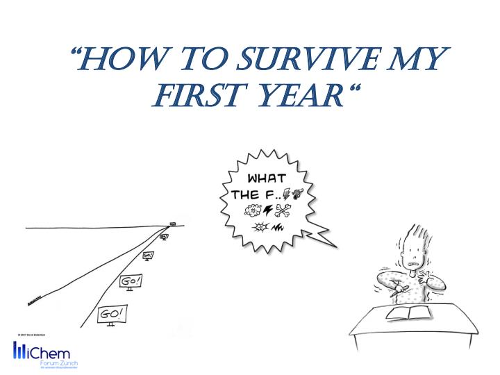 how to survive my first year n.