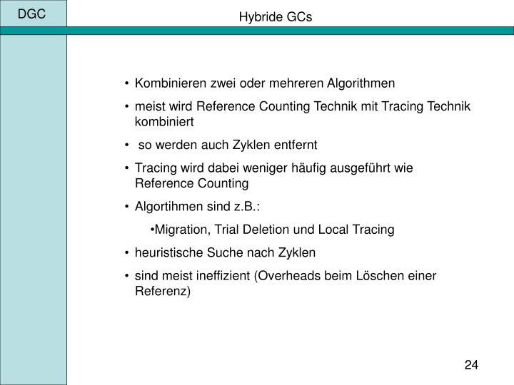 Hybride GCs