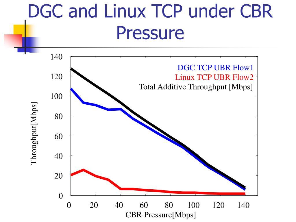 PPT - MULTIMEDIA TRAFFIC MANAGEMENT ON TCP/IP OVER ATM-UBR
