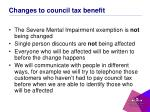 changes to council tax benefit2