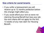 size criteria for social tenants4