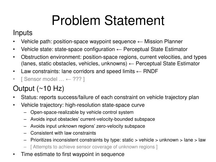 bmw problem statement and situational analysis 1 problem and situation analysis public sector improvement facility project resources 3 purpose of the problem analysis• understand how different problems affect different stakeholders and their priorities in addressing them• analyse the situation in which the agency will be working.