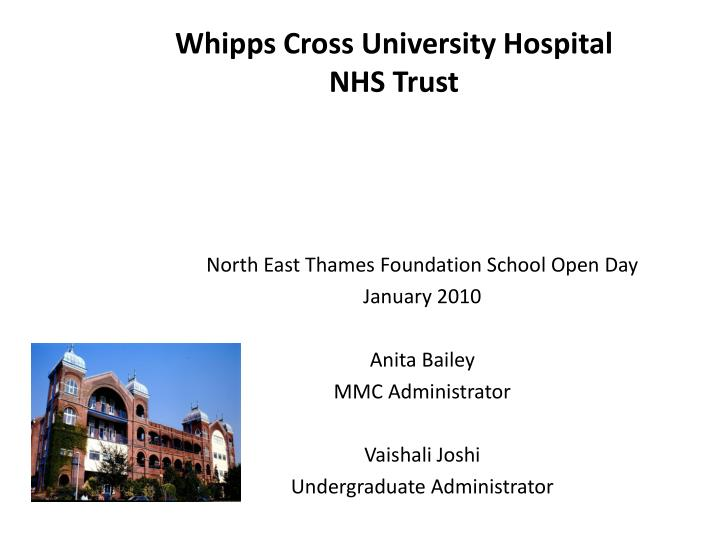 analysis of whipps cross hospital essay Search for articles by this author affiliations high dependency unit fellow, department of anaesthetics, whipps cross hospital, barts health trust, london e11 1nr.
