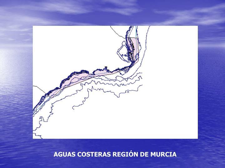 AGUAS COSTERAS REGIÓN DE MURCIA