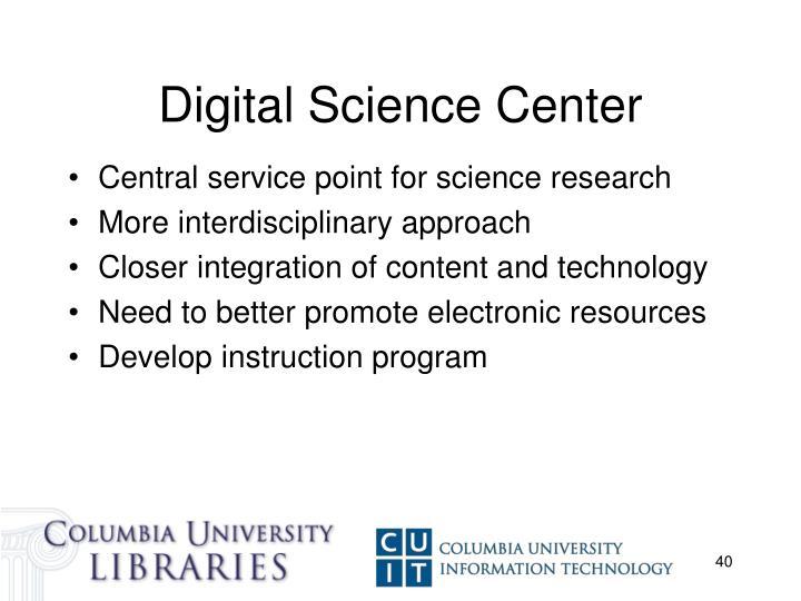 Digital Science Center