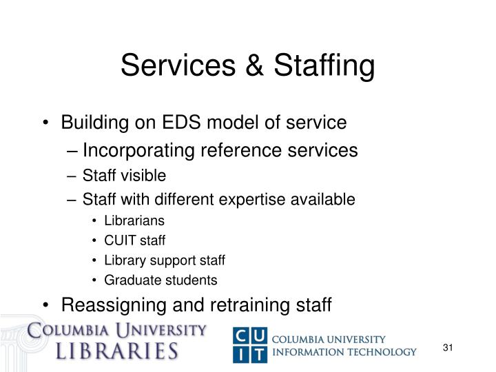 Services & Staffing