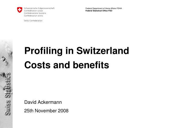profiling in switzerland costs and benefits n.