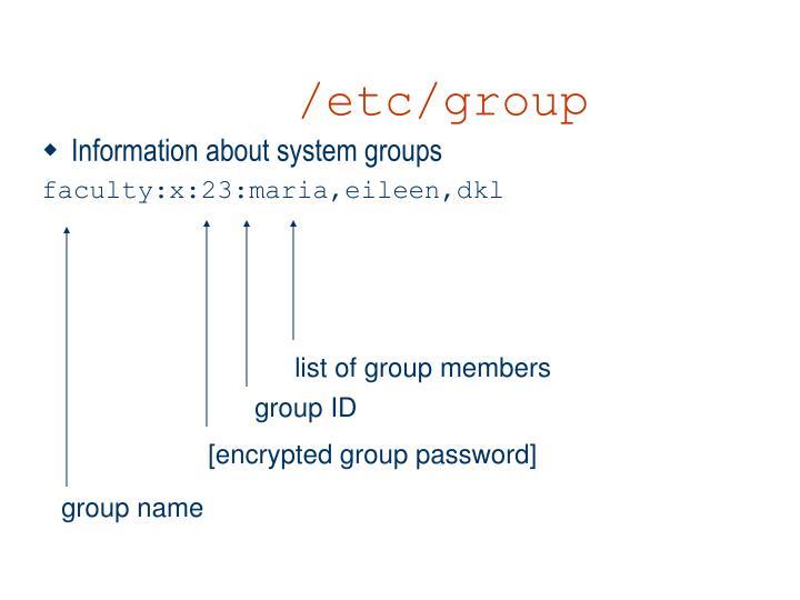 /etc/group