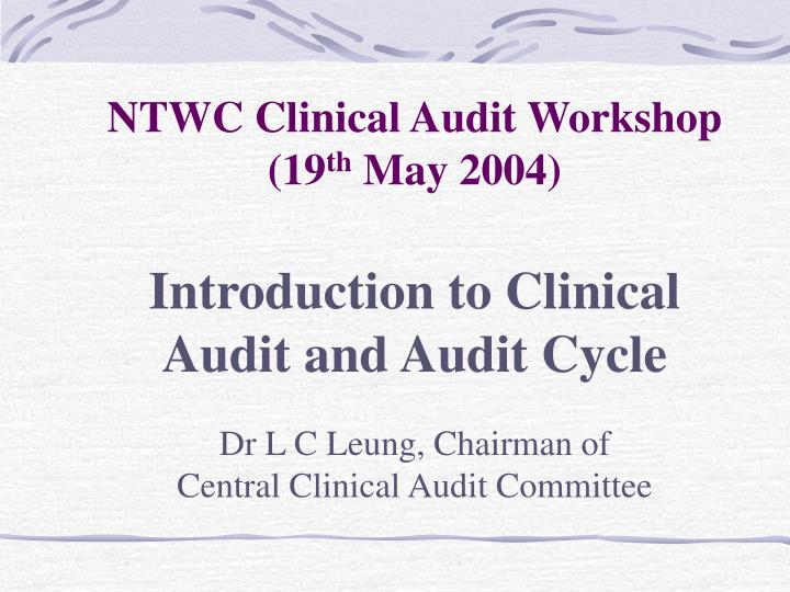 ppt - clinical audit powerpoint presentation - id:3413906, Presentation templates