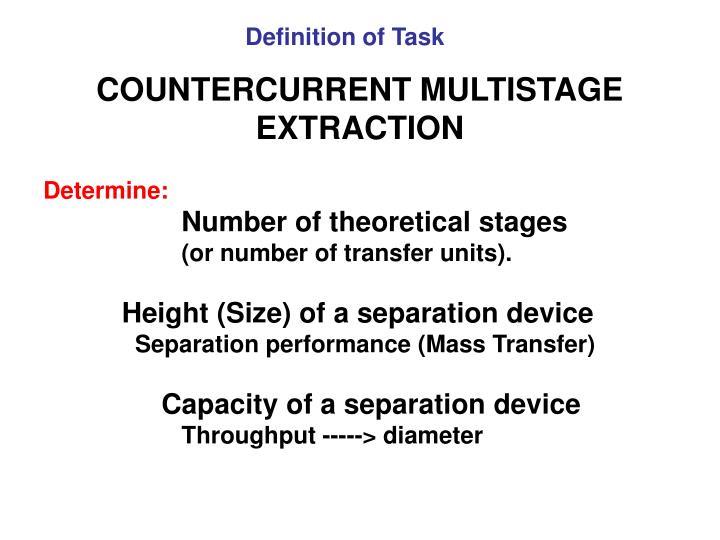 Definition of Task