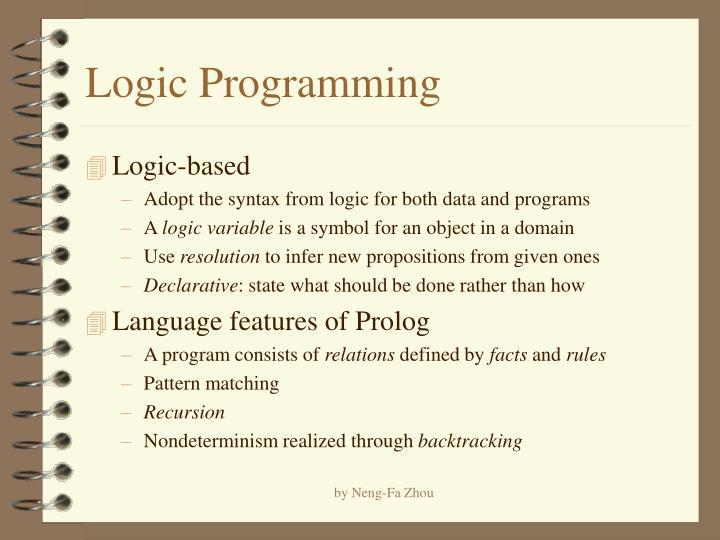 logic programming n.