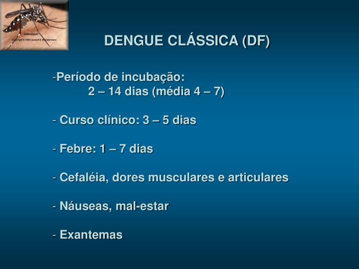 DENGUE CLÁSSICA (DF)