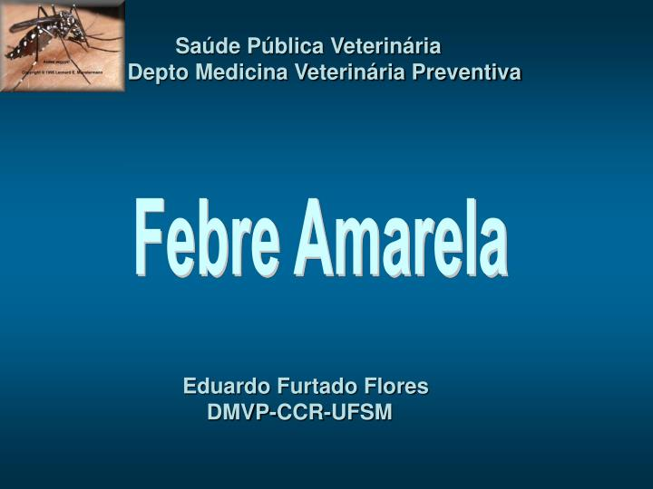 Saúde Pública Veterinária