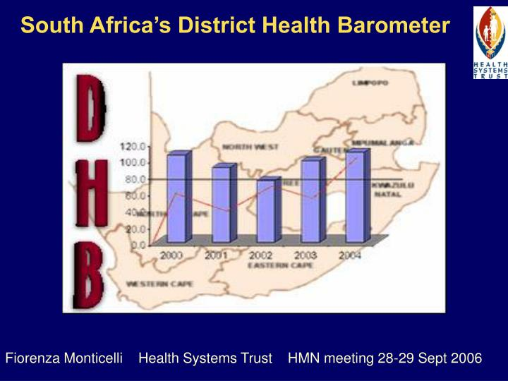 south africa s district health barometer n.