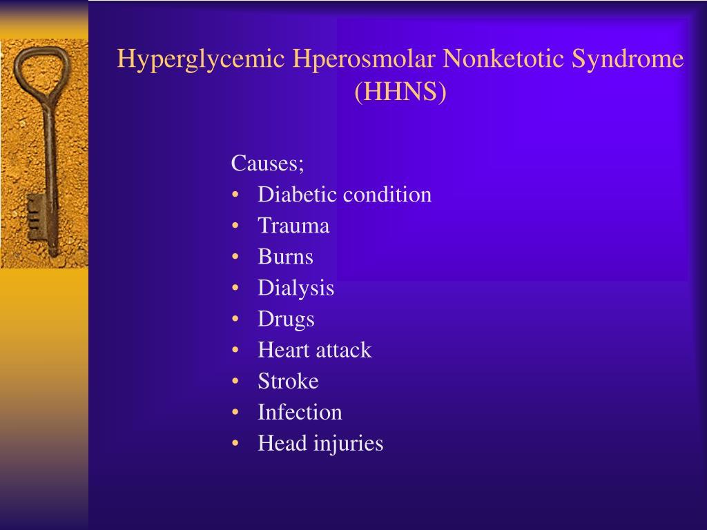 PPT - Acute Diabetic Emergencies PowerPoint Presentation