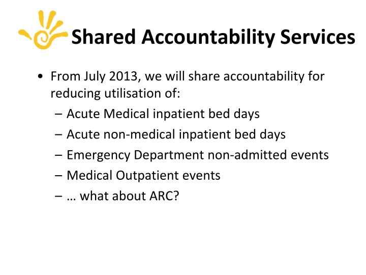Shared Accountability Services