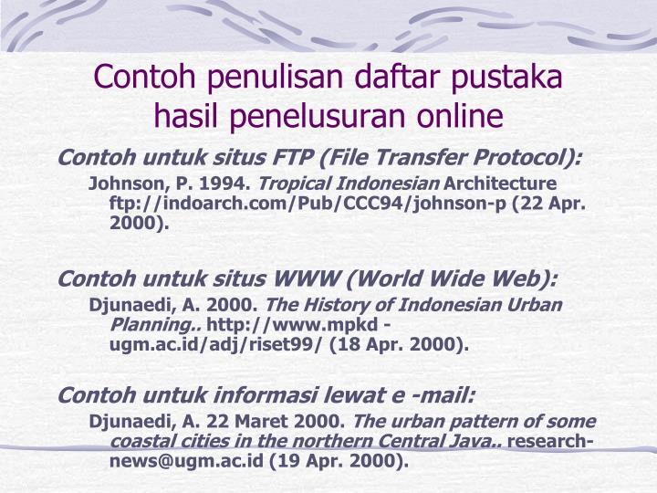 Ppt Tinjauan Pustaka Powerpoint Presentation Id 3414255