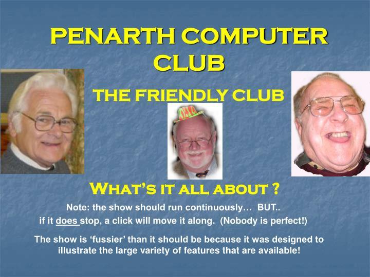 penarth computer club n.