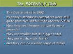 the friendly club1