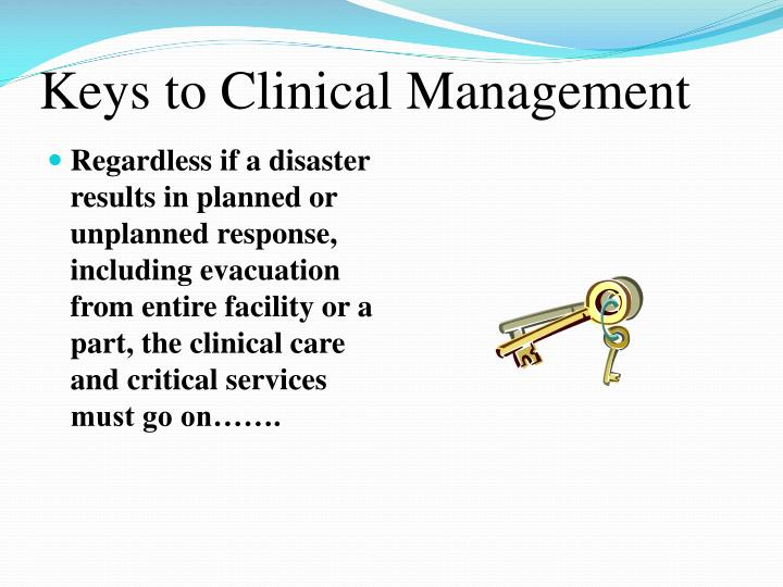 Keys to Clinical Management