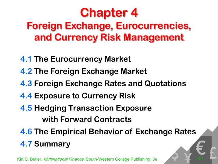 Ppt Chapter 4 Foreign Exchange