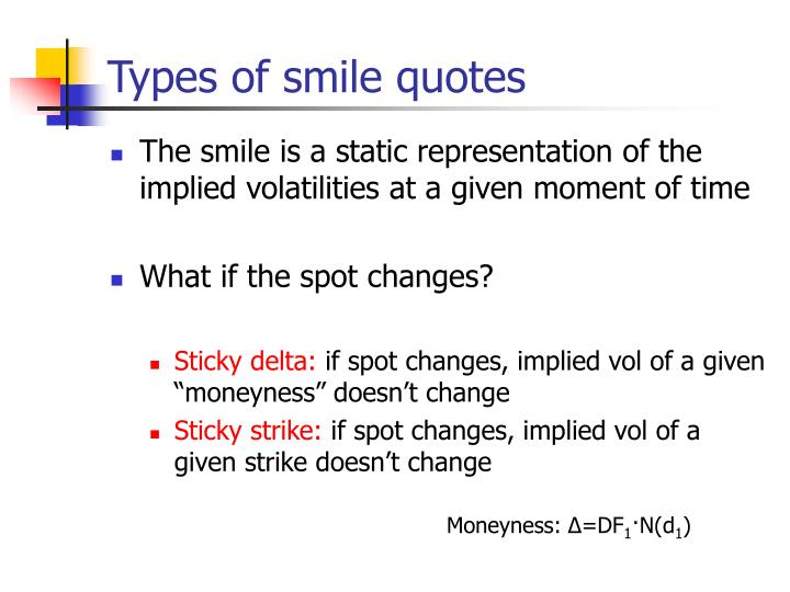 Types of smile quotes