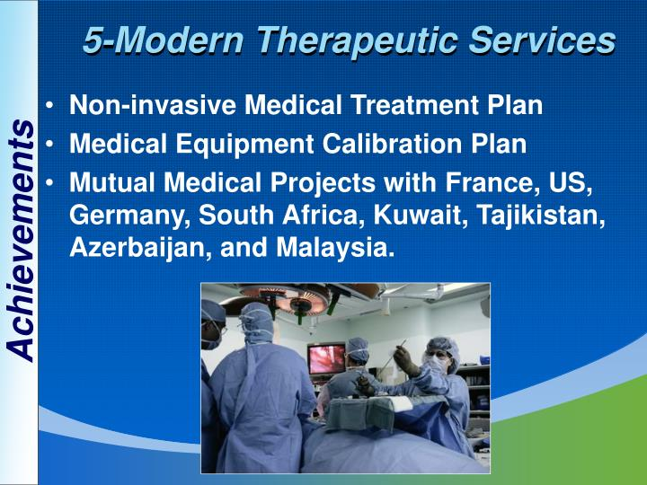 5-Modern Therapeutic Services