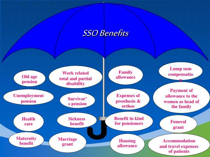 SSO Benefits