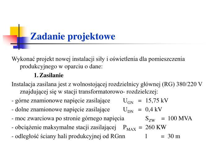Zadanie projektowe1