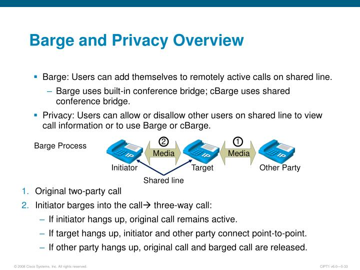 Barge and Privacy Overview