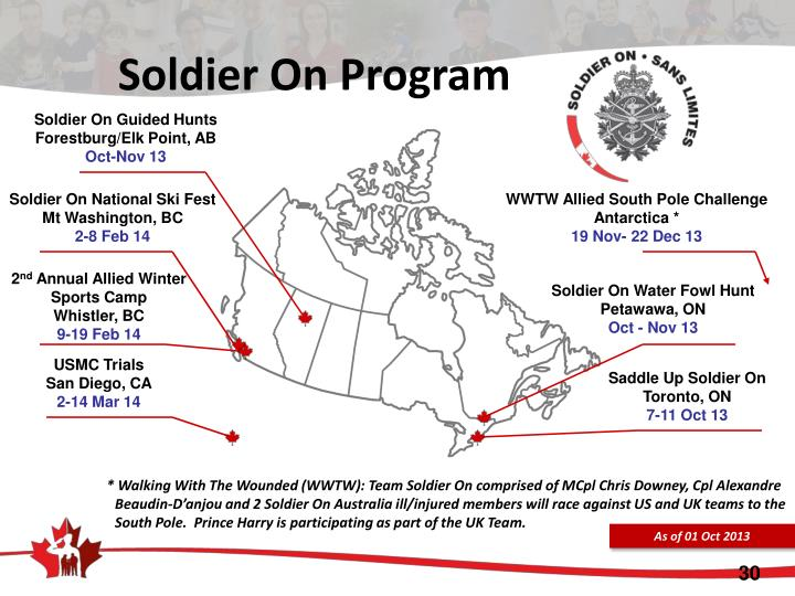 Soldier On Program