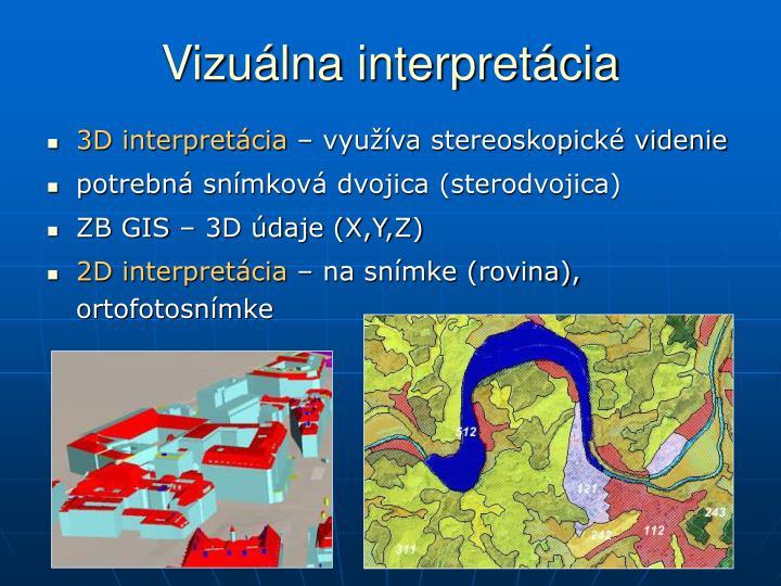 Vizuálna interpretácia