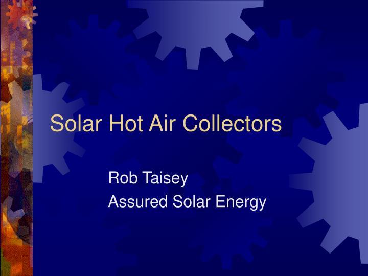 rob taisey assured solar energy n.