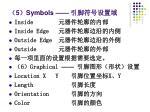 5 symbols