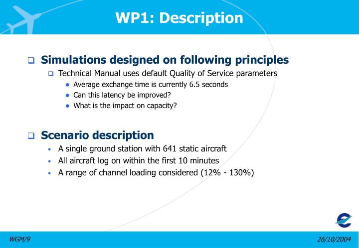 WP1: Description