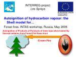 interreg project les sprays