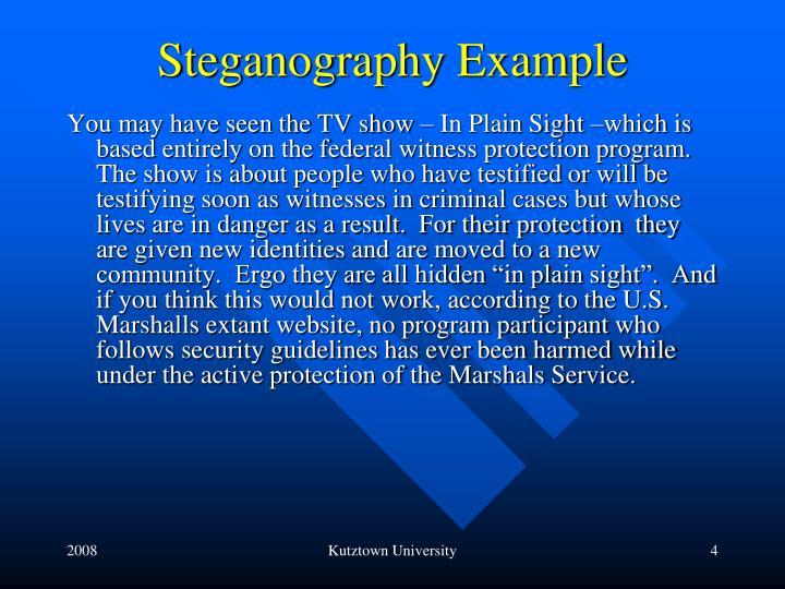 Steganography Example