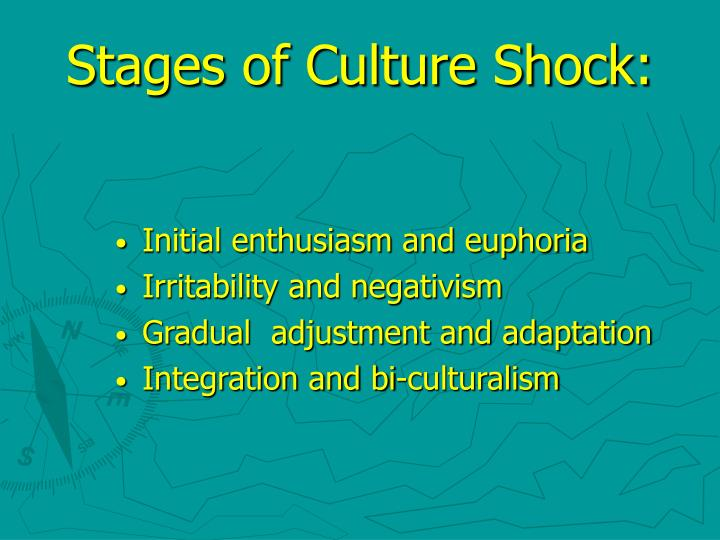 Stages of Culture Shock: